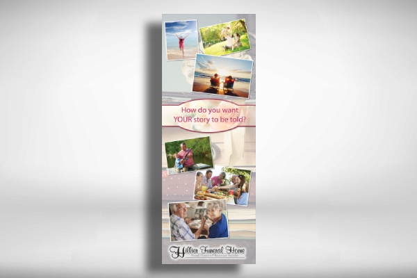 funeral home promotional banner