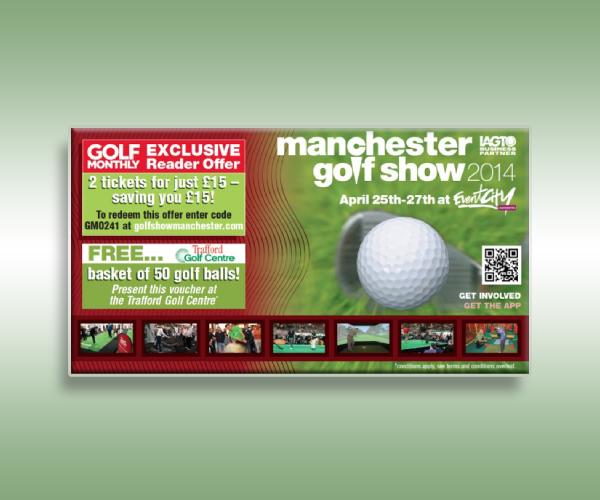 golf show ticket
