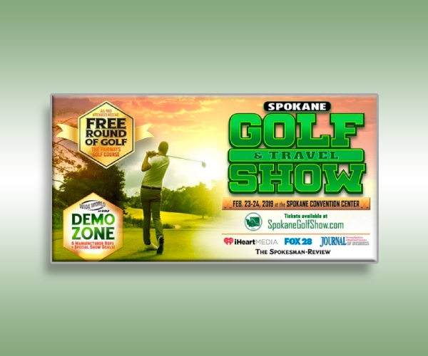 golf and travel show ticket