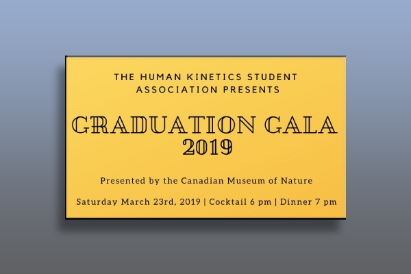 graduation gala ticket