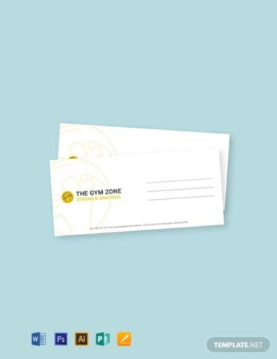 gym envelope