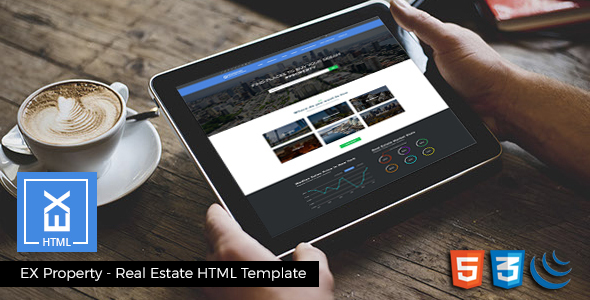 html realtor website template