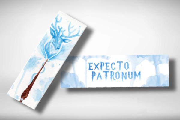 harry potter inspired bookmark