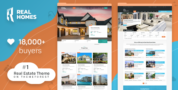 highly responsive property management wordpress template