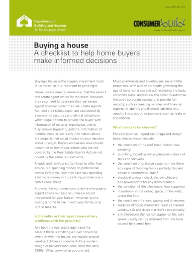 home renovation guide and checklist for home buyers