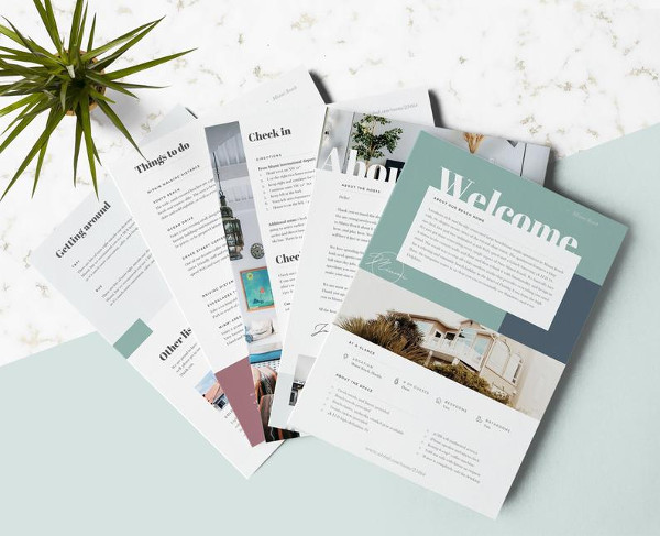 home rental welcome flyer template1