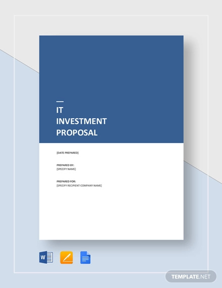 it investment proposal template1