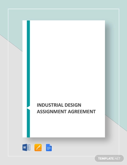 industrial design assignment agreement template
