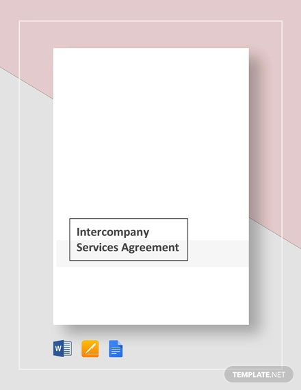 inter company services agreement template