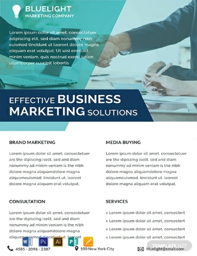 investment marketing datasheet