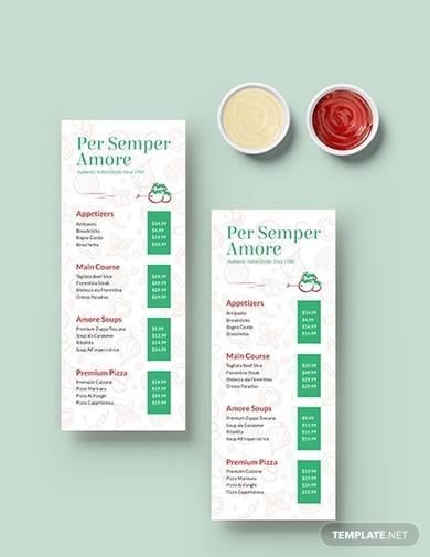 italian restaurant menu1
