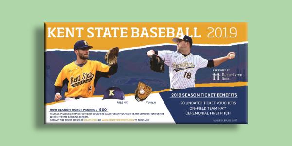 kent state baseball 2019 ticket