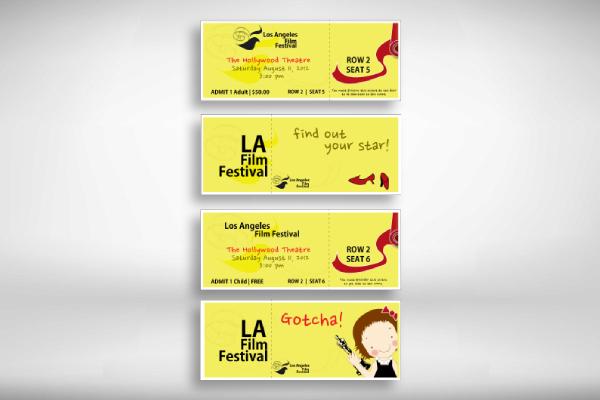 la film festival ticket