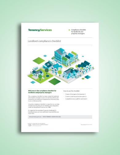 landlord tenant compliance checklist