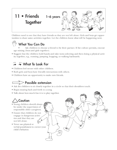 making friends lesson plan for toddlers