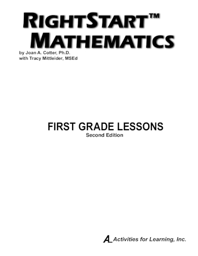 mathematics first grade lesson plan