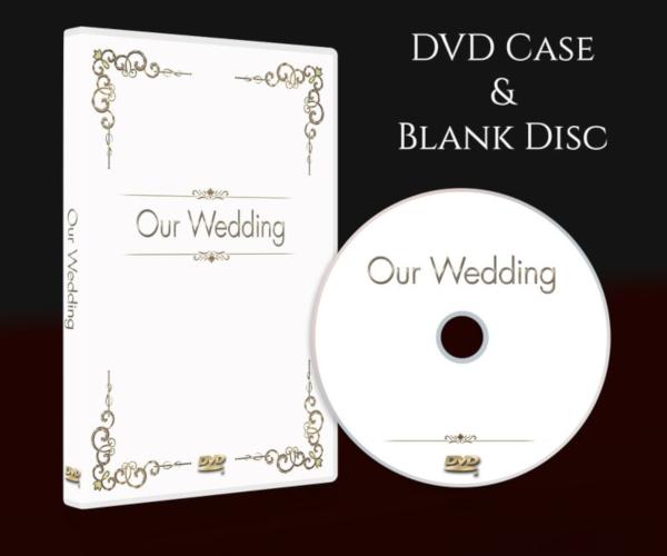 minimalist wedding dvd cover