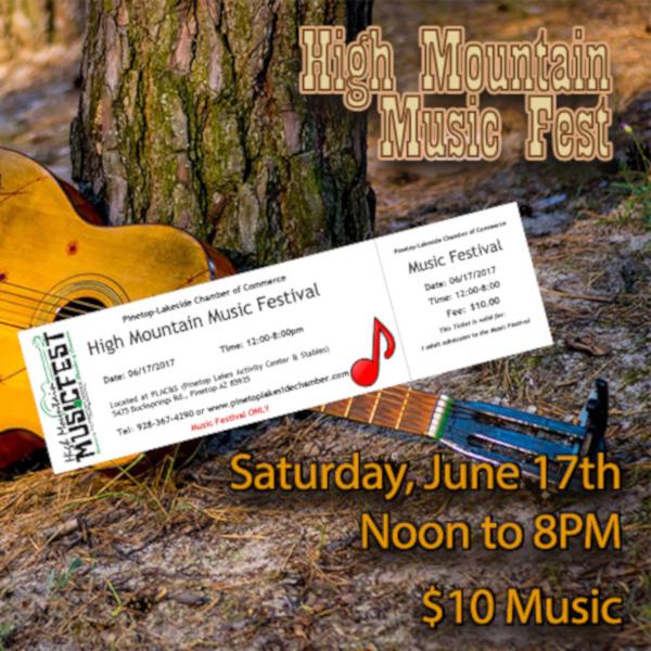 music festival ticket