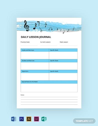 music journal1