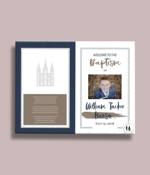 navy baptism program