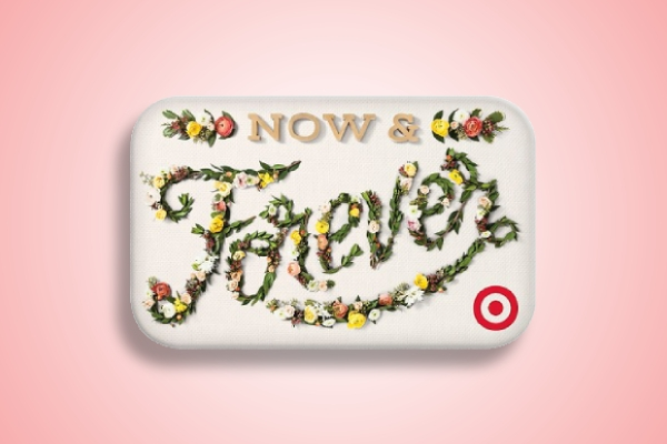 now and forever wedding gift card
