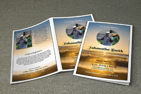 obituary and memorial program brochure1