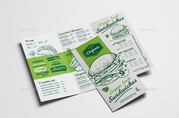 organic sandwich menu1