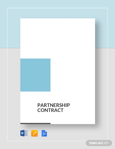 partnership real estate contract template