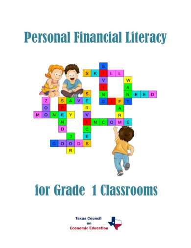 personal financial literacy first grade lesson plan