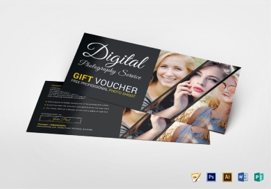 photo session gift voucher