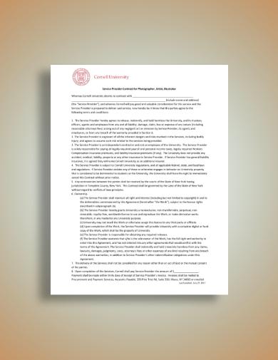 photographer artist and illustrator license agreement