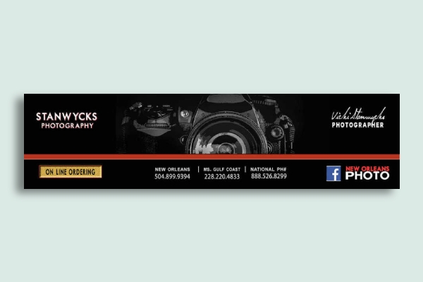 photography studio banner