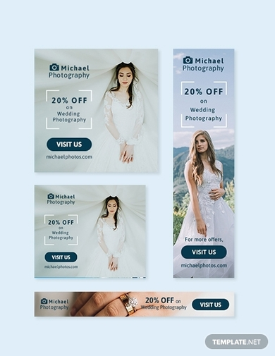 photography web banner ad