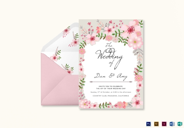 10 Best Wedding Invitation Card Examples Templates