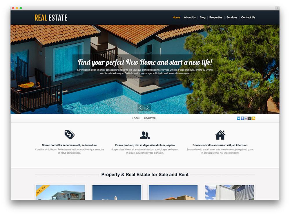premium commercial real estate wordpress template1