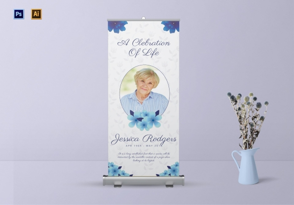 premium funeral roll up banner1