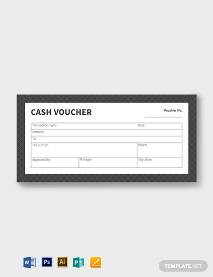 printable cash voucher template