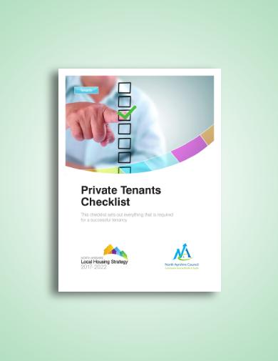 private landlord tenant checklist