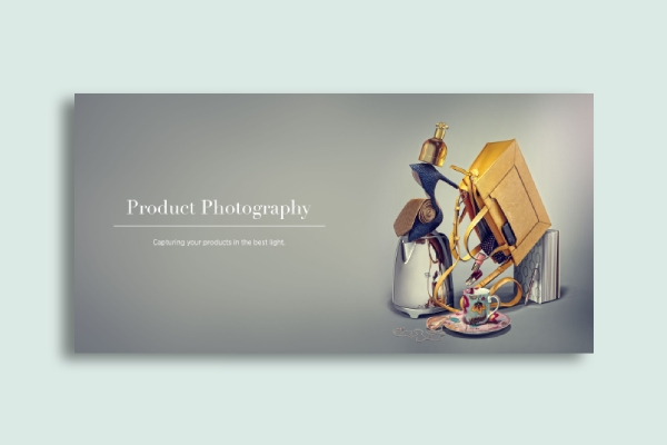 product photography banner