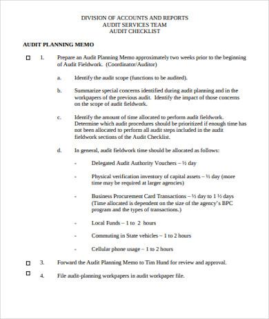 property management audit checklist