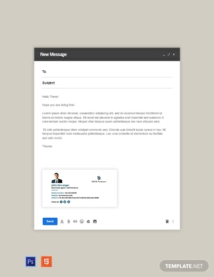 real estate agent email signature1