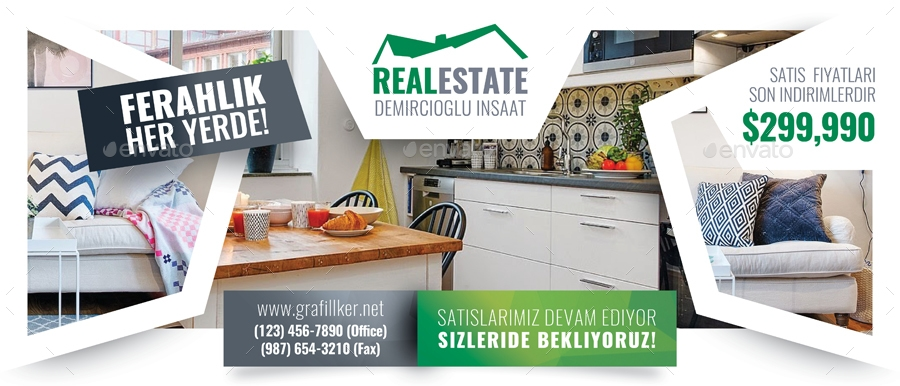 real estate billboard example template