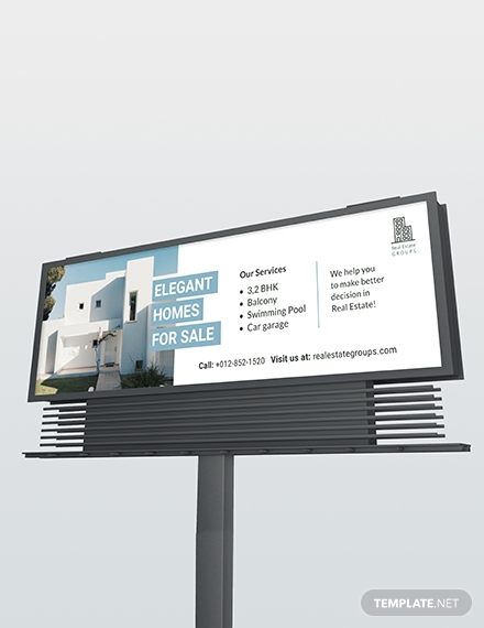 real estate billboard template1