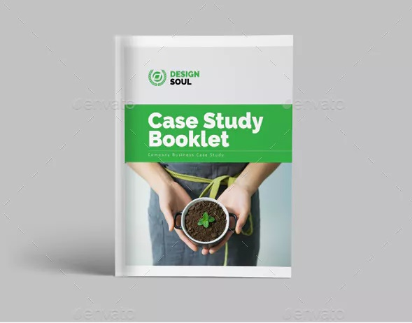real estate case study template for booklet