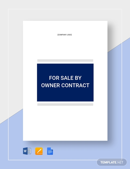 real estate contract template for owners