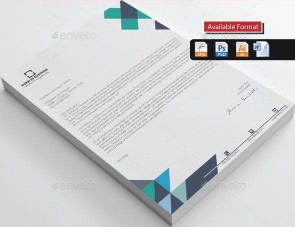 real estate cover property letterhead