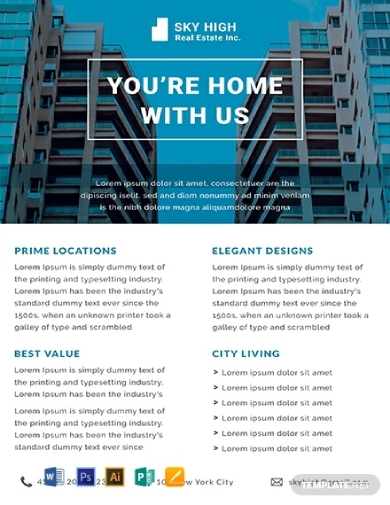 real estate datasheet