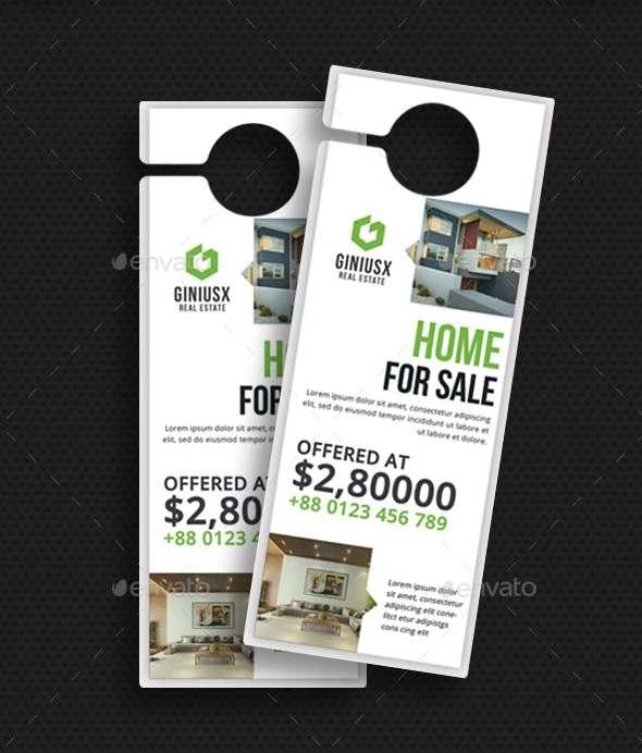 real estate door hanger designs1