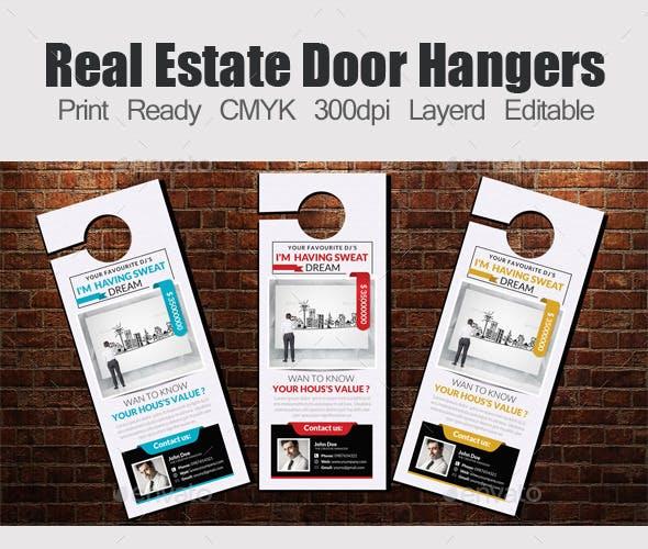 real estate door hangers examples