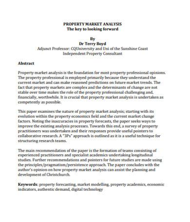 real estate property market analysis